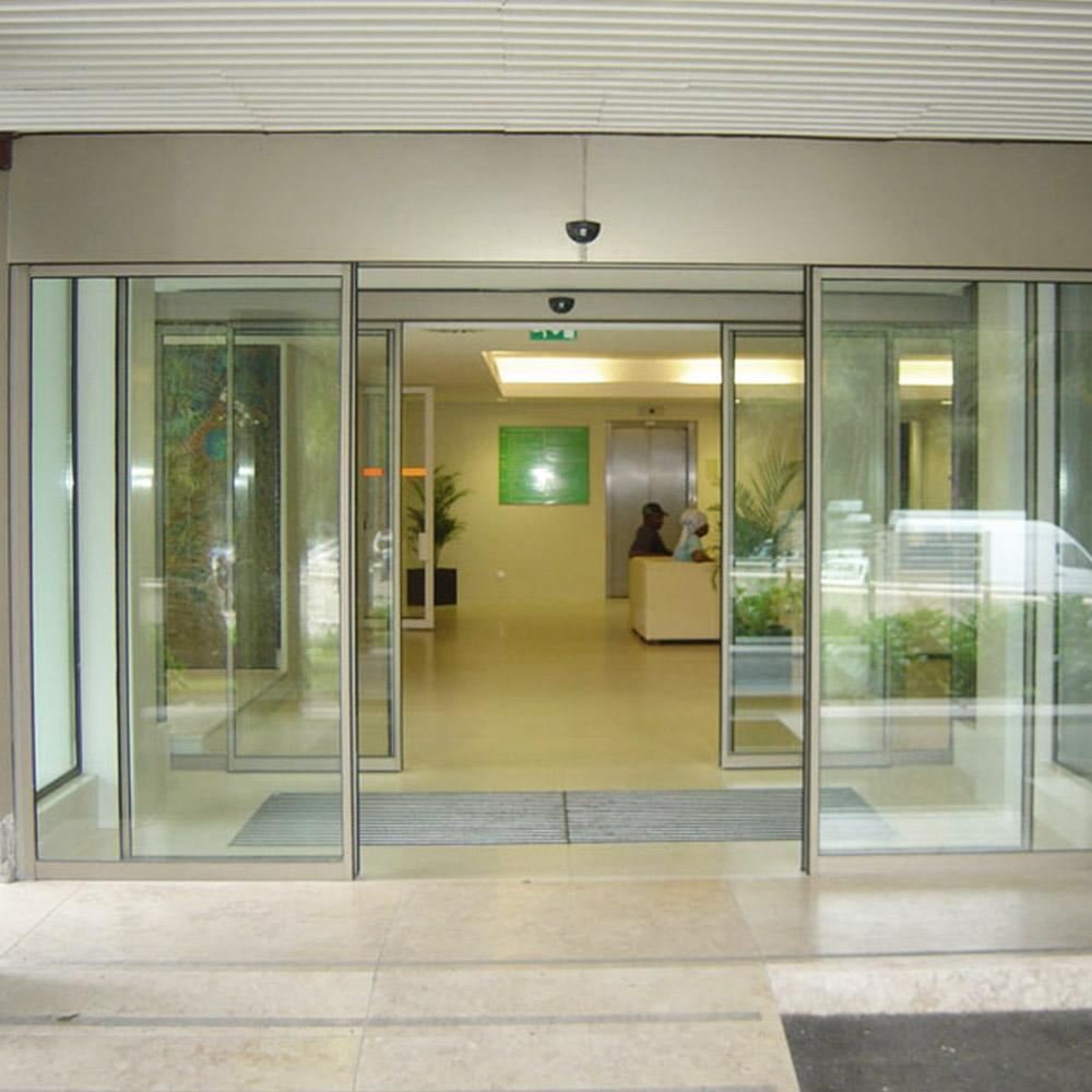 Tipos de portas de vidro